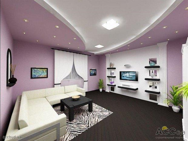 Дизайн зала в однокомнатной квартире фото