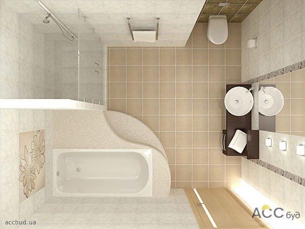 Дизайн скромной ванной