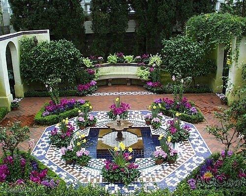 Дизайн домика в саду