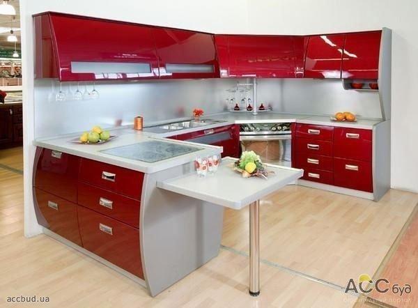 Дизайн проект кухня 9 кв м