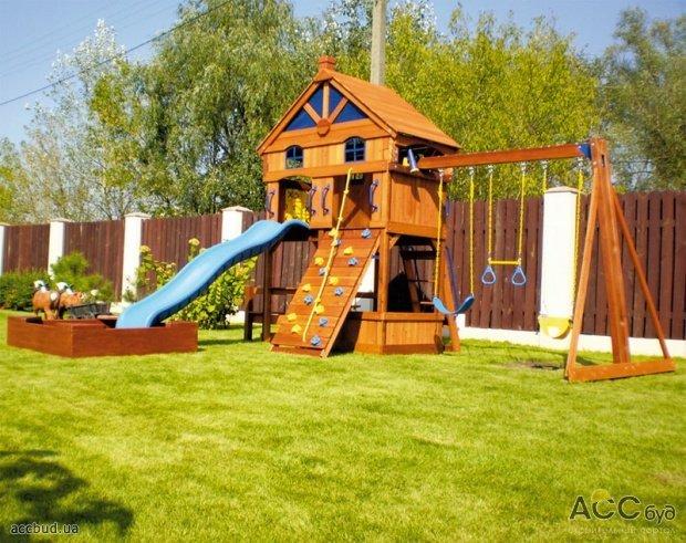Детские площадки своими руками дома