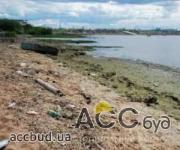 В Мариуполе Донецкой области побережье загрязнили отходами!
