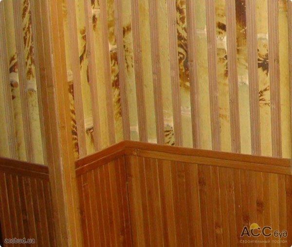 Обои в прихожую бамбуковые обои