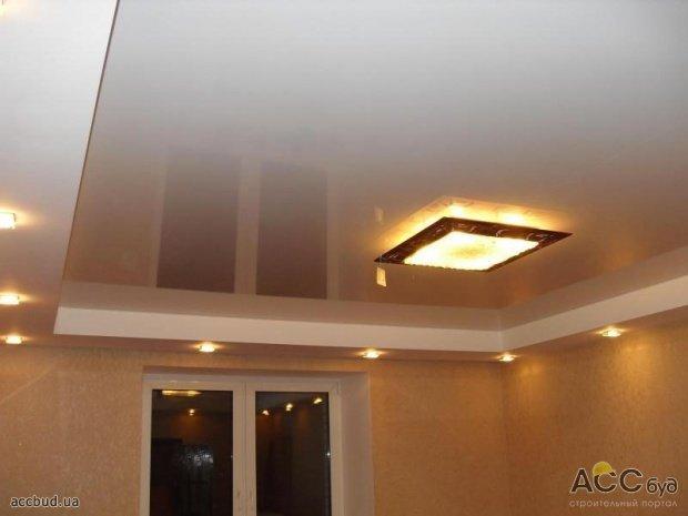 Ремонт частного дома потолок