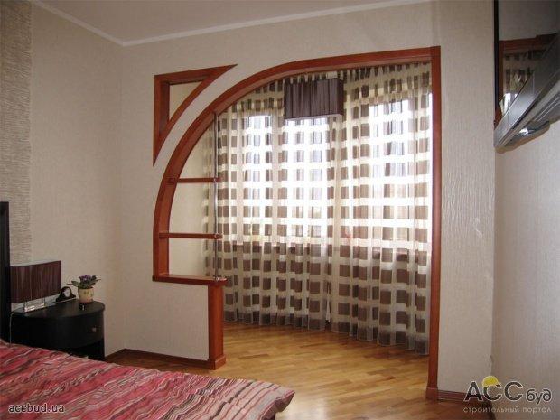 фото арочных проемов с дверьми