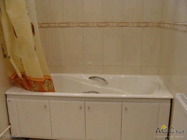 Плитка в небольшой ванной комнате