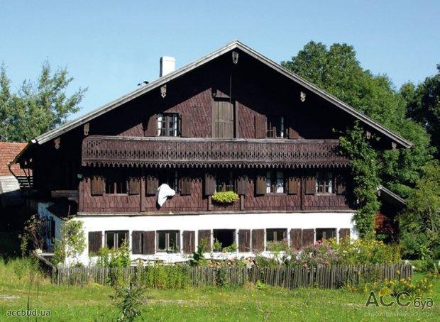 Деревянный дом в баварском стиле фото