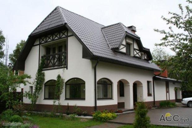 Фасады оформление домов фото