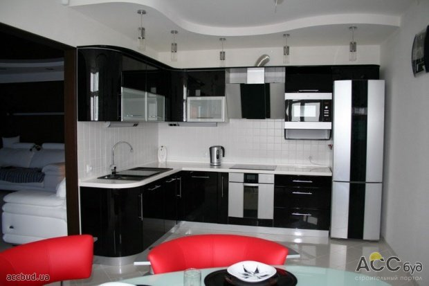 Кухня 3.5 на 3.5 дизайн