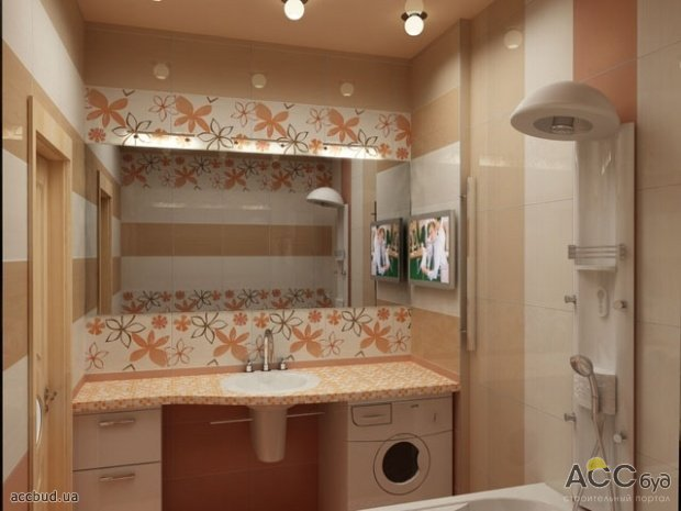 227Дизайн маленькой ванной комнаты фото 3 кв м