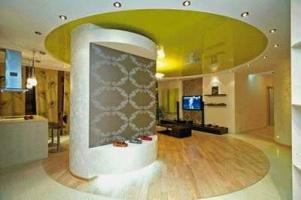 Натяжные потолки - декоративные акценты, уход и цена
