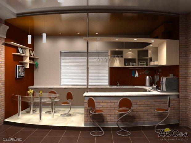 Барную стойку на кухню