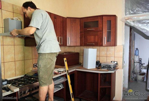 Как сделать кухню дома своими руками