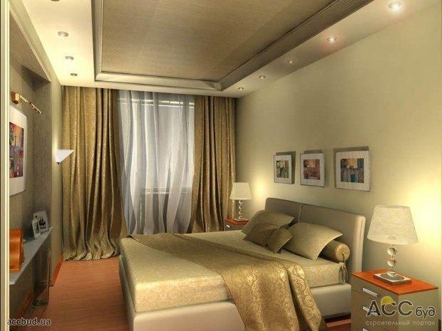 дизайн интерьера спальни: