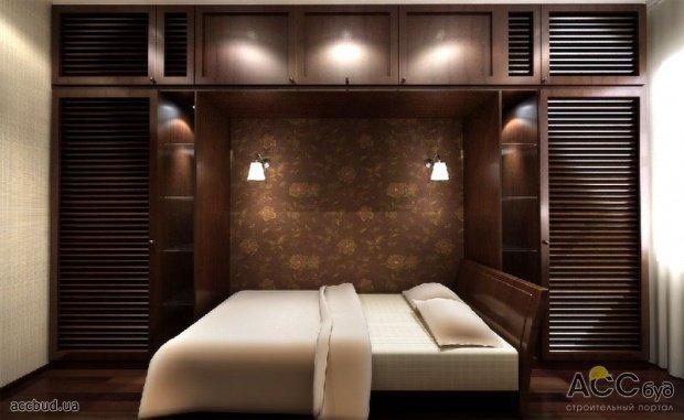 Спальня малогабаритная дизайн фото