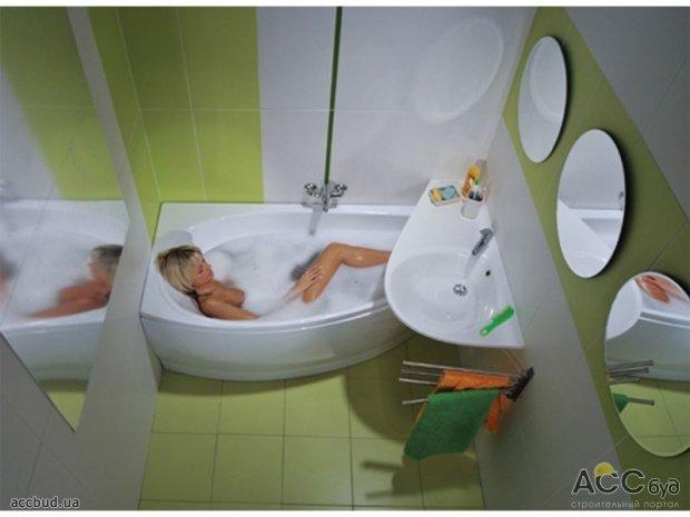 Маленькая ванная комната маленькая