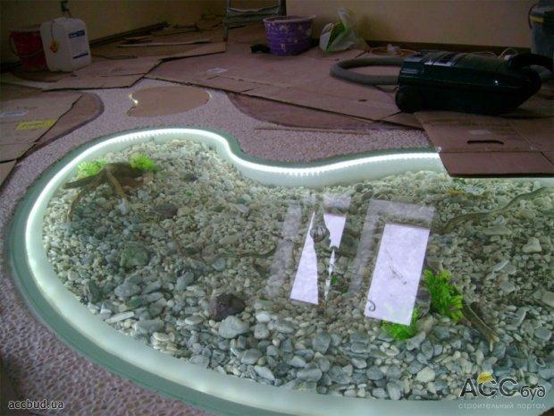 3D-пол как озеро