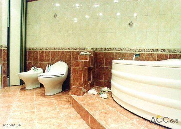 Ремонт ванной комнаты и туалета совмещенный своими