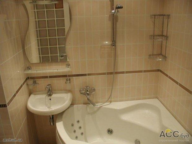 Дизайн маленькой ванной комнаты без