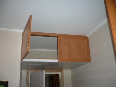 Как сделать подвесные шкафы