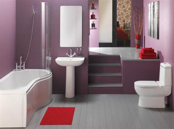Дизайн ванной фото 6 кв м