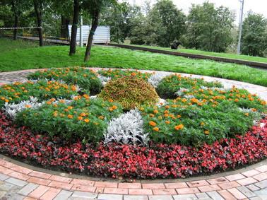 дизайн клумбы цветники и клумбы своими руками в саду цветочные