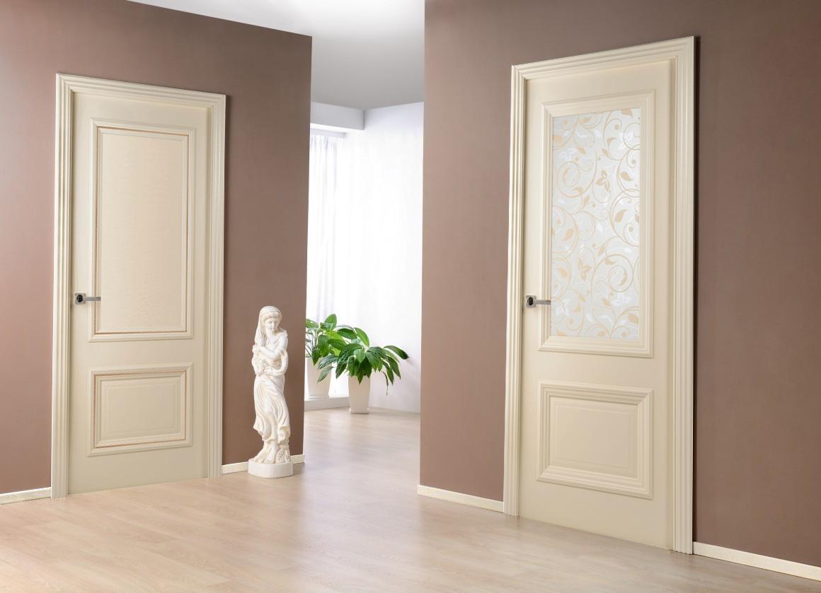 Интерьеры сочетание цветов двери пол