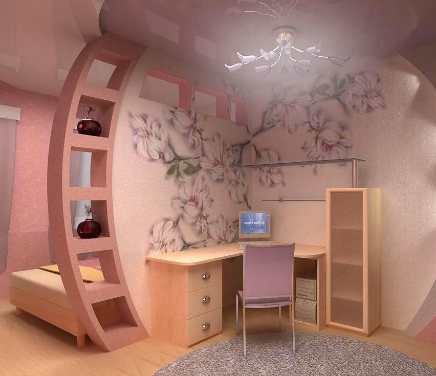 Дизайн комнаты гипсокартон