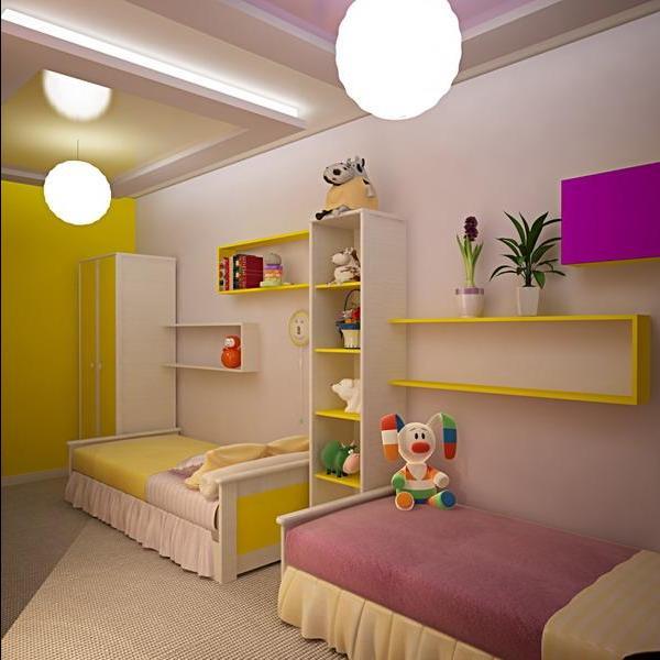 Дизайн комнаты для двоих