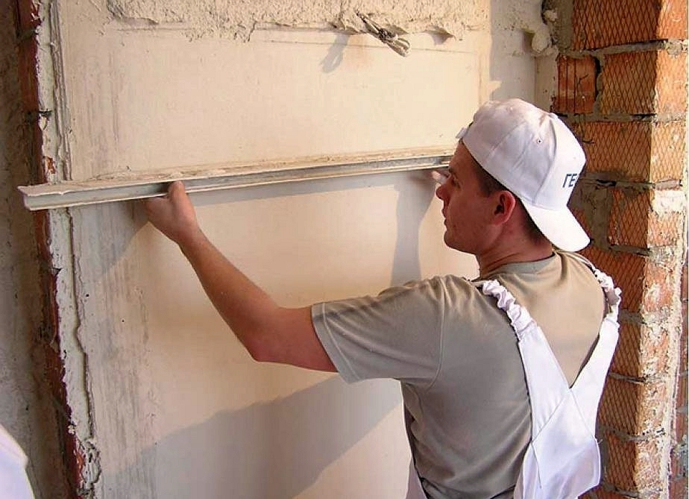 Как сделать ровную стену из штукатурки 774