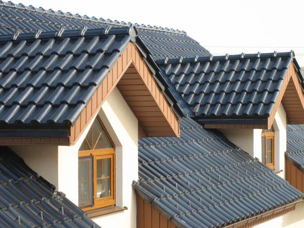 Плоские и скатные крыши.