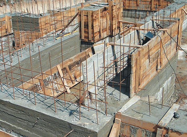 Фундамент (Фото: КСК ТЕХНИКО)