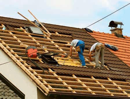 Плоские ремонт крыша