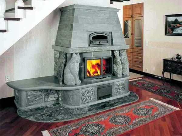 Надежный, безопасный, эргономичный камин — оптимальное решение проблемы обогрева загородного дома, дачи.