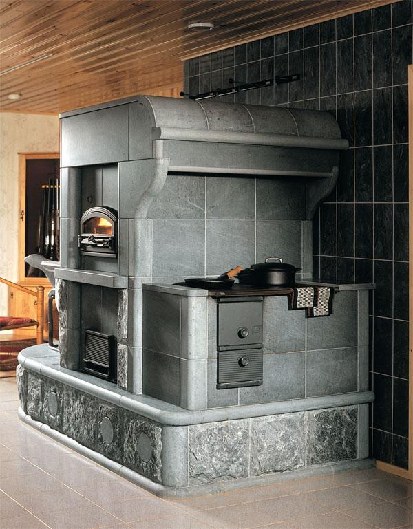 Два в одном: камин-печка
