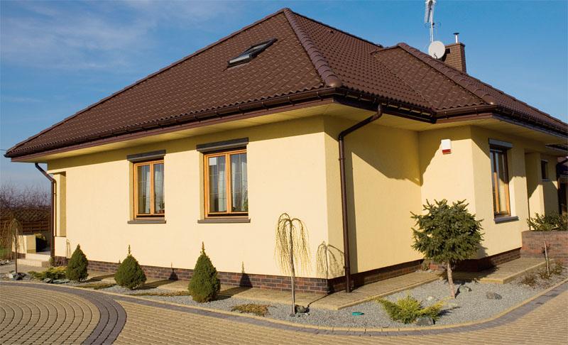 Декоративная штукатурка для фасада дома купить