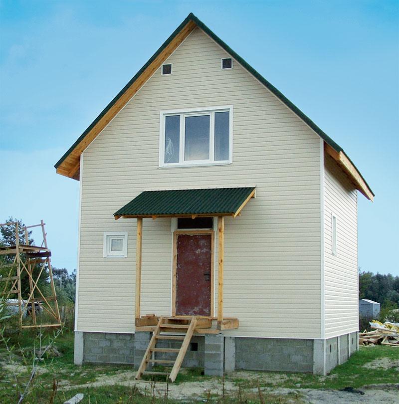 Строим дом на даче своими руками