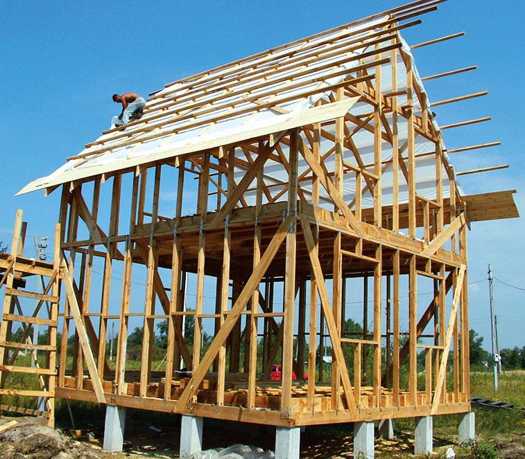 Как построить каркасный дом своими руками 6 8