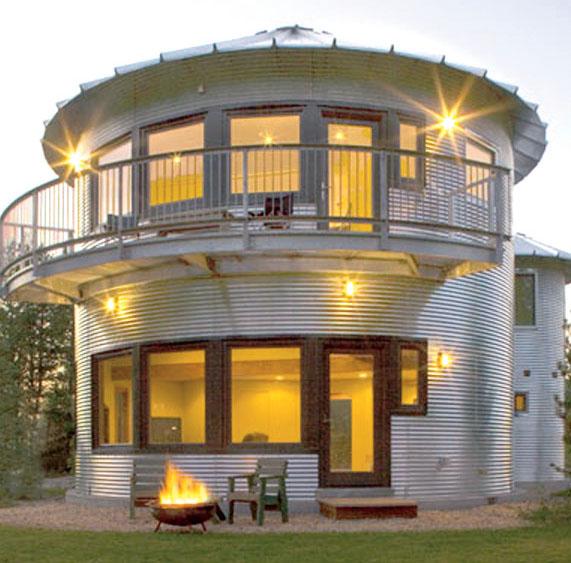 Дом-элеватор The SILO House (США)