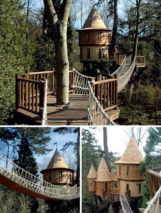Дом на дереве Treehouse (США)