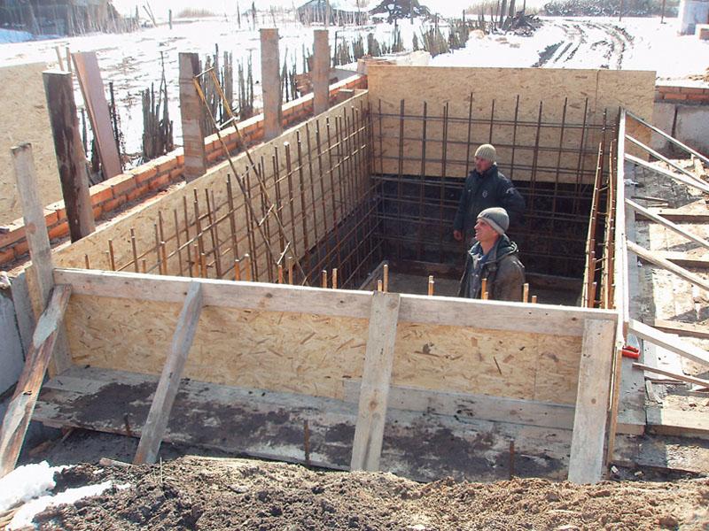 Как построить баню из пеноблока 3