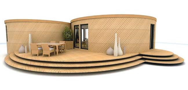 ... По задумке архитекторов типичные блоки-заготовки домов-«ульев» можно  соединять согласно желаниям 37ff78d2b2d