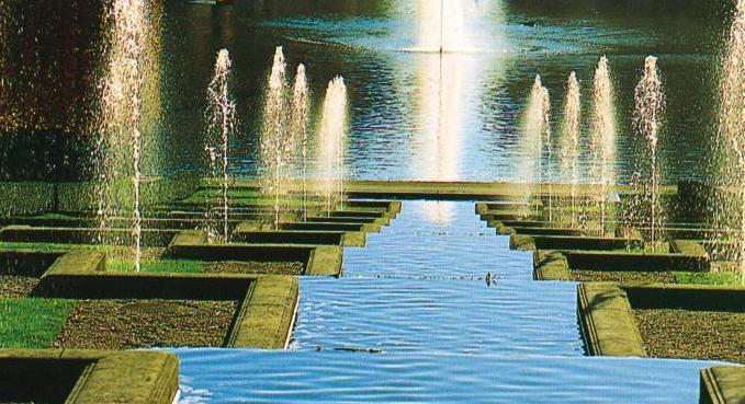 Французское барокко. Водные феерии в регулярных садах. Часть 2