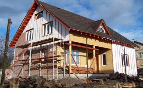 возведение стен - ключевой момент в строительстве дома