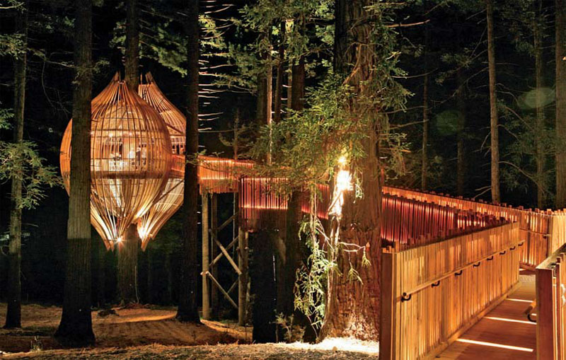 Treehouse от Pacific Environments Architects