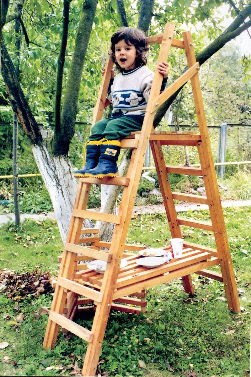 Садовая лестница стремянка