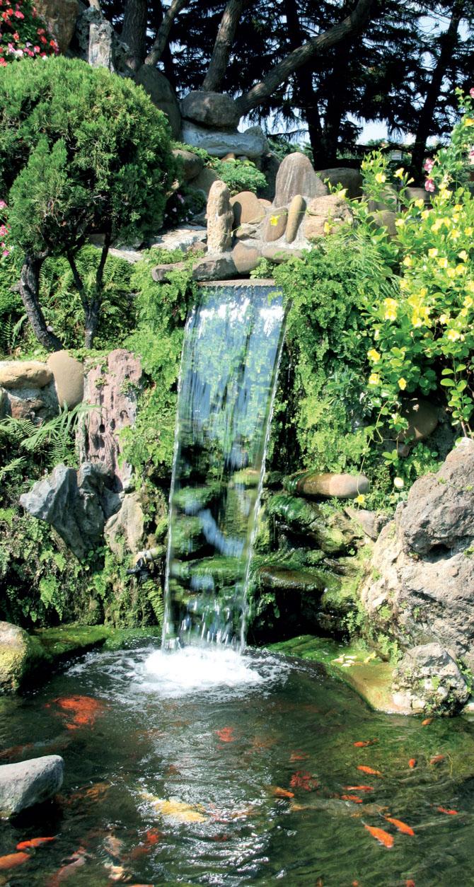своими руками на лоджии водопад