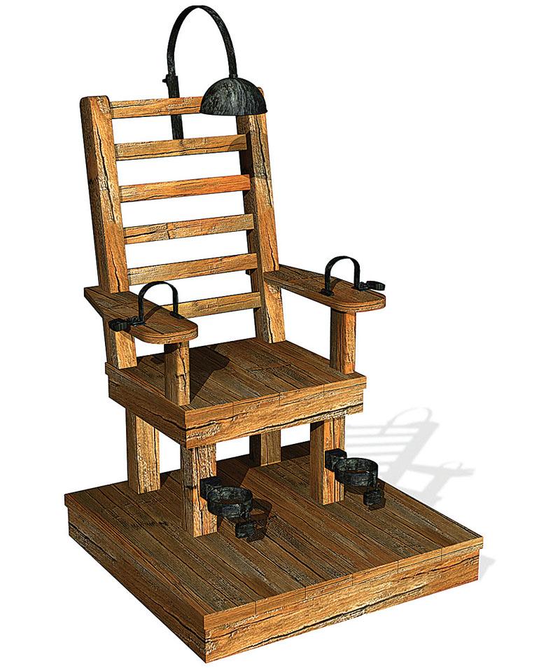 Своими руками электрический стул
