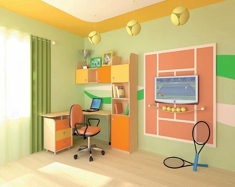 Обустройство детской комнаты как