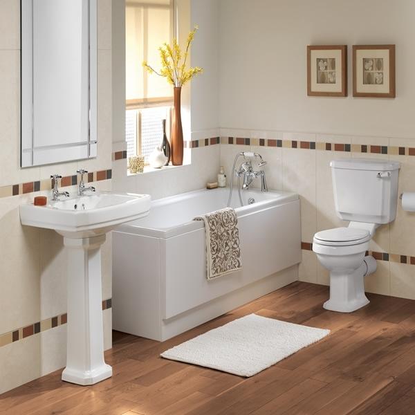 Дизайн черно белой ванны - фотографии дизайна